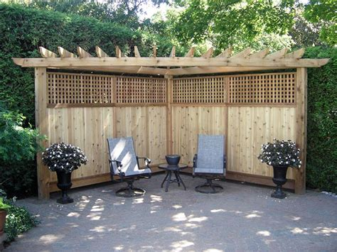 backyard dividers privacy screens burlington oakville mississauga ontario