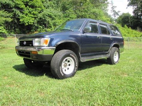 how cars engines work 1995 toyota 4runner electronic throttle control sell used 1995 toyota 4runner 2wd 3 0 v6 automatic alum wheels look in candler north