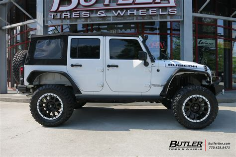 Aftermarket Jeep Rims Jeep Wrangler Unlimited Custom Wheels Fuel Vector 20x Et