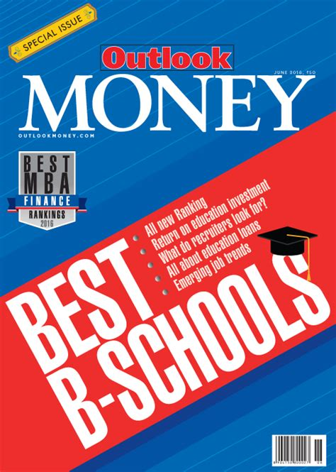 Best Mba For Your Money by Outlook Money Institution Rankings