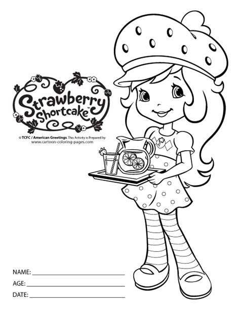strawberry shortcake coloring pages games free strawberry shortcake coloring pages for kids 34