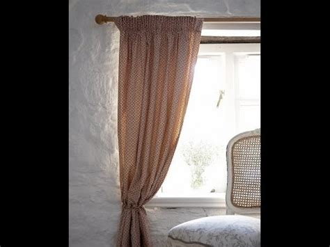 simple lined curtains sewing a simple lined curtain by debbie shore youtube