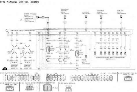 engine control system wiring diagram of 1994 mazda rx 7