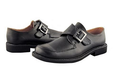 dress shoes boys boys black dress shoes with velcro buckle