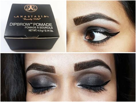 anastasia brow pomade swatches anastasia beverly hills dipbrow pomade review swatches