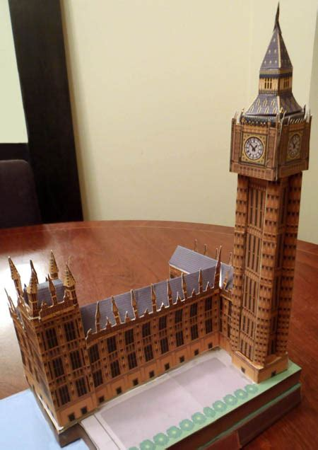 Big Ben Papercraft - the great mouse detective images frompo