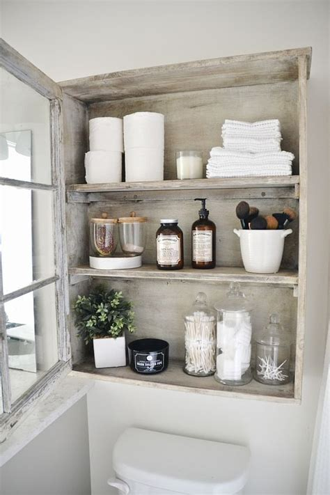 shabby chic bathroom cabinet 26 adorable shabby chic bathroom d 233 cor ideas shelterness