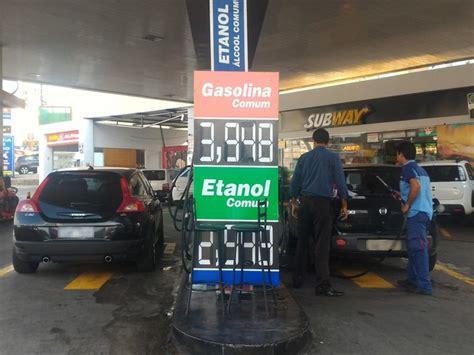 aumento sindicato plastico goinia g1 alguns postos j 225 reduziram o pre 231 o da gasolina em