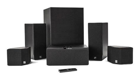 enclave audio cinehome hd wireless home theater system