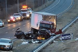 horrific car crashes on new jersey cop pedro abad jr posted of bourbon on
