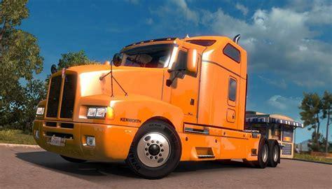 kenworth t600 kenworth t600 truck truck simulator mod ats mod