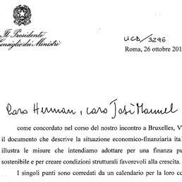 patti lateranensi testo ecco il testo della lettera l italia ha inviato alla