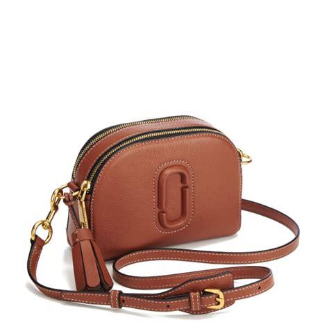 Shutter Mj Bag Marc Leather Sling Bag marc s shutter small bag cognac