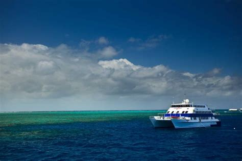 catamaran cruise great barrier reef review south pacific birthday vacation australia new