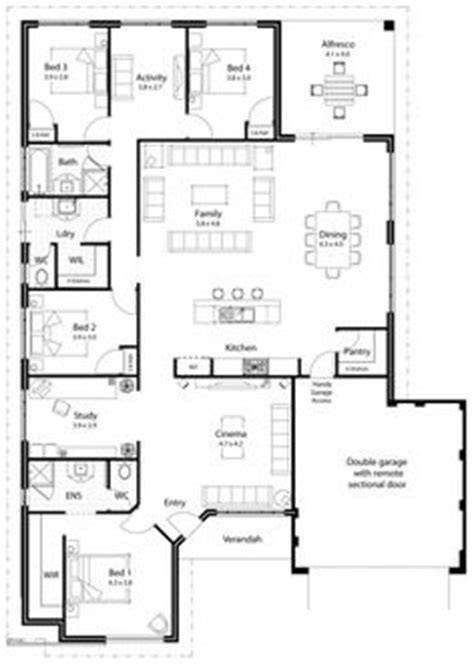 house plans with in apartment with kitchen house plan separate wings for bedrooms separate