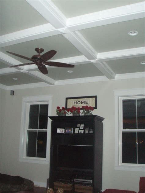 Design Your Own Home Addition Free coffered ceiling amp cove lighting armchair builder