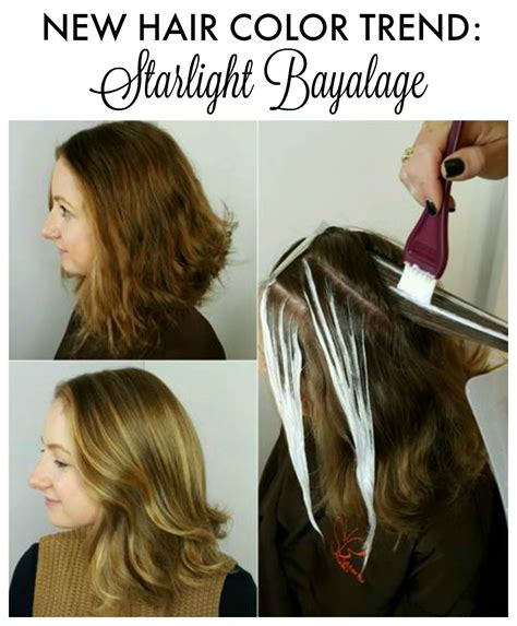 new technique in hair highlighting hair color idea starlight bayalage mom hair color and