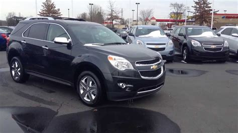 cadillac and chevrolet 2014 chevrolet equinox ashen grey ltz burns cadillac
