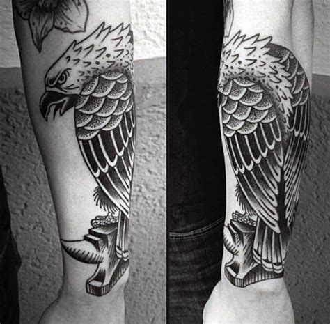 eagle wrist tattoo 75 eagle tattoos for a soaring flight of designs