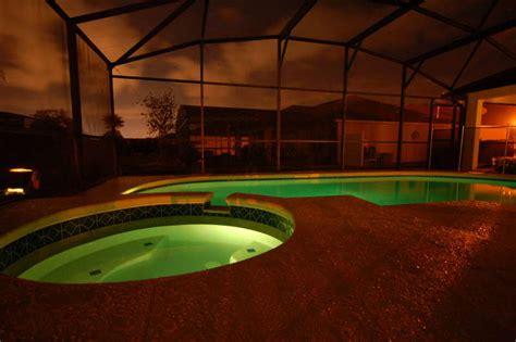 pool at night tuscan ridge dave s florida villa private pool davenport