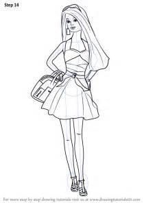 learn draw barbie doll barbie step step drawing tutorials
