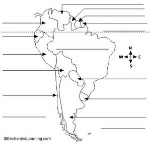south america blank political map blank political map of america