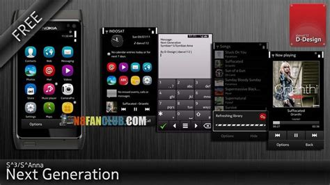download themes for nokia n8 free next generation symbian 3 free nokia n8 theme download