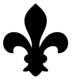 small tent card template free flluer de lis free printable stencil patterns fleur de lis