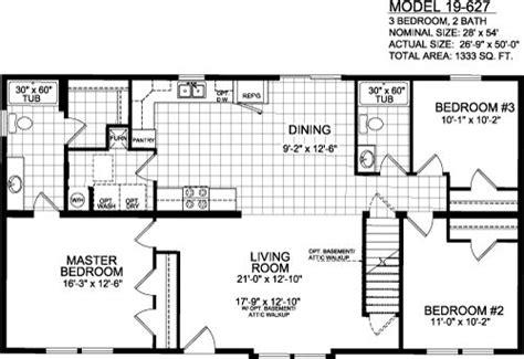 3 bedroom 2 bath mobile home floor plans 44 best images about houses on pinterest bedroom