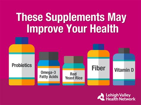 supplement your health 5 supplements to improve your health