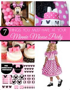 minnie mouse birthday 7 things you must at your next minnie mouse catch my