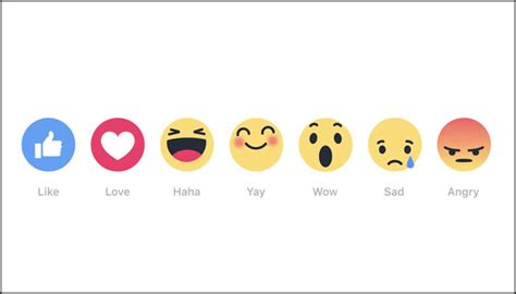 emoji fb check out facebook s new reaction emojis internet