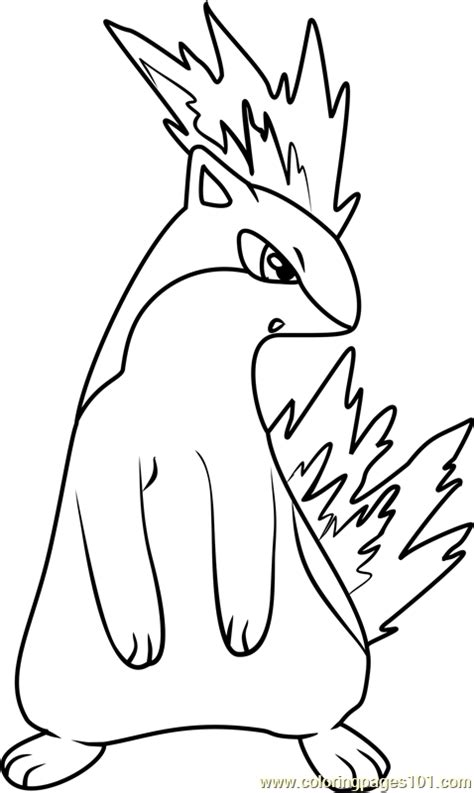 pokemon coloring pages quilava quilava pokemon coloring page free pok 233 mon coloring