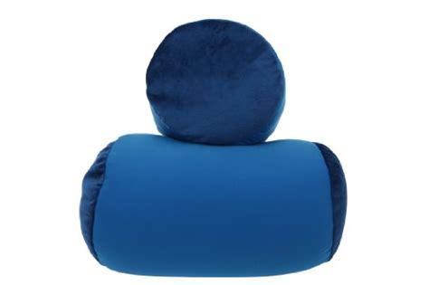 Snooztime Pillow by Original Snooz Microbead Bolster Pillow Bluemogu