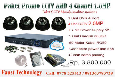 Cctv Paling Murah cctv batam promo pasang paket murah 0813 63 783 738 kota batam