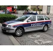 An Innsbruck Austria Police Car  Its Such A Nice Town