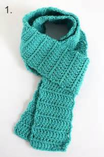 How Do You Crochet An Infinity Scarf 3 Ways To Wear A Crocheted Scarf Make And Takes