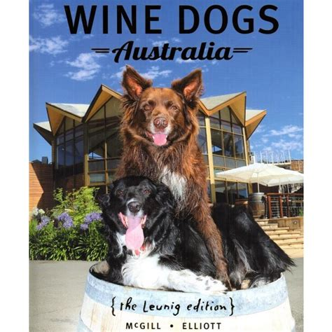 in our dogs books wine dogs australia 5th edition book barossa chateau