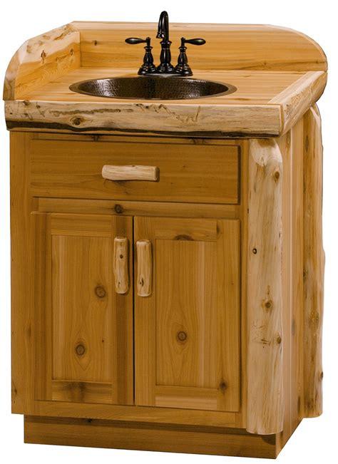 log bathroom vanity log bathroom vanity rustic woodland cottage cedar log