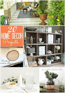 home decor projects great ideas 20 diy home decor projects