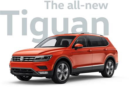 volkswagen suv tiguan 2018 vw tiguan mid size sporty suv volkswagen with 2018