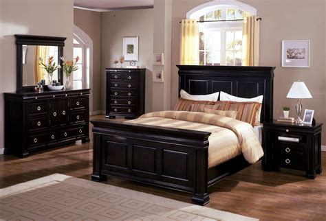 bedroom sets in black bedroom furniture sets queen black raya furniture