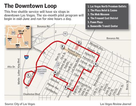 map of downtown las vegas a splash of pink and free rides coming to downtown las