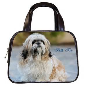 shih tzu purse shih tzu shitzu puppies s leather handbag ebay