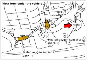 2001 nissan maxima bank 1 sensor 2 location 2001 free engine image for user manual