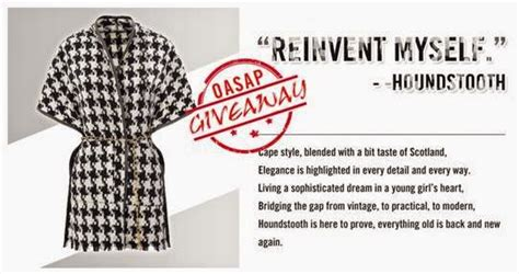 pattern white remedy cape international giveaway win from oasap