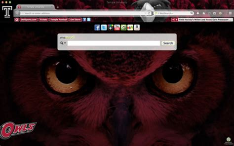Firefox Themes Owl | temple owls browser themes wallpaper and more brand thunder