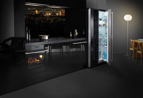black kitchen appliances bringing sexy black kitchen style trends from europe