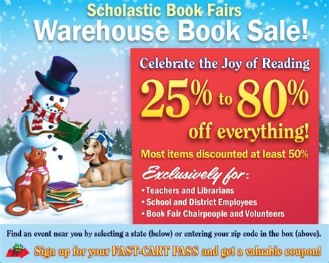 scholastic books warehouse sale