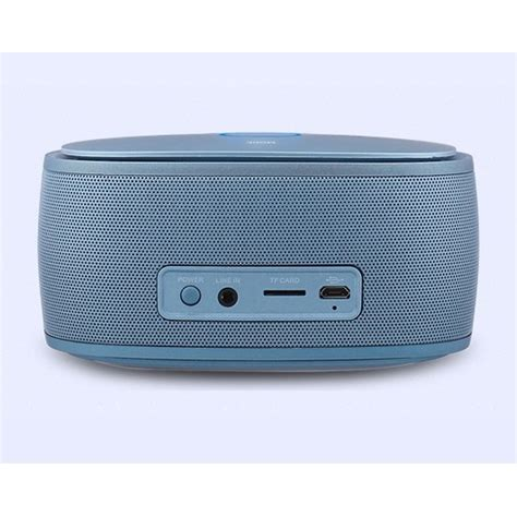 Speaker Bluetooth Semarang kingone k5 bass bluetooth speaker with tf card slot and mic blue jakartanotebook